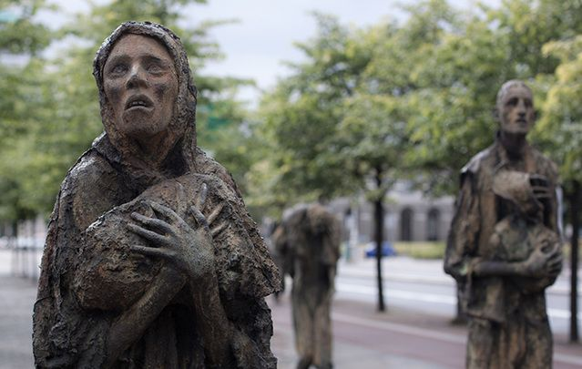 Researchers used the teeth of Irish famine victims to study the effects of starvation on the body.