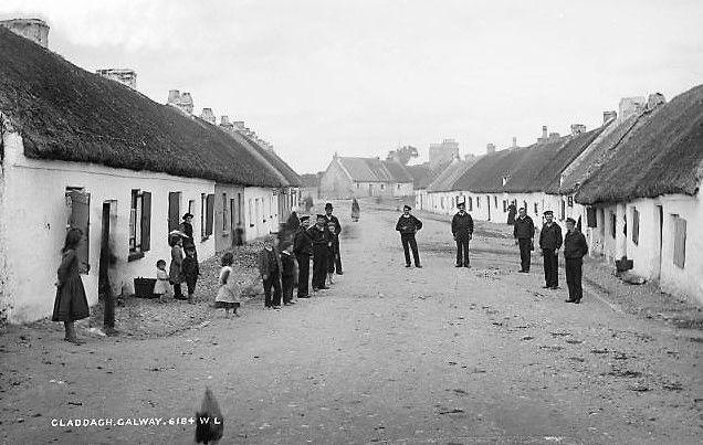 The Claddagh community, circa 1900.