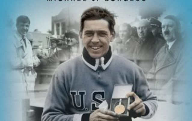 """Jack Shea's story, and that of his personal stand against tyranny, is told in a new book, """"Keeper of the Olympic Flame,"""" written by another upstate New Yorker, Michael J. Burgess."""