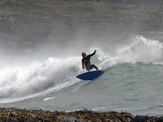 Tough competition as surf holiday havens along the west of coast of Ireland are named by the pros.