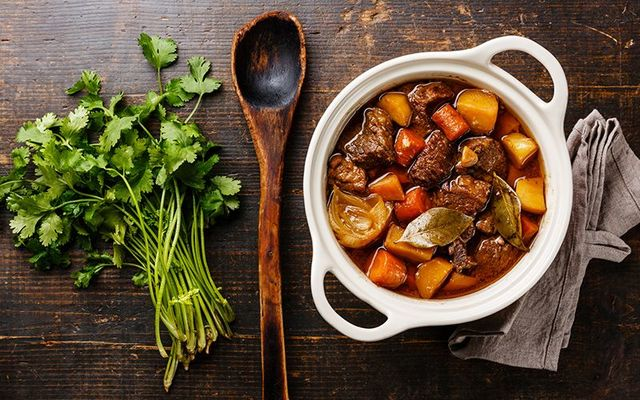 Guinness Irish stew is the perfect meal for a chilly night.