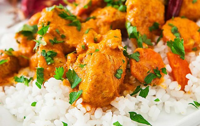 Family style chicken curry by Neven Maguire
