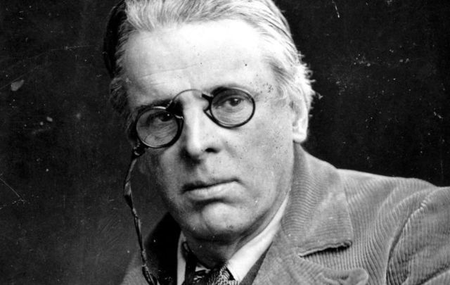 Irish poet William Butler Yeats received his Nobel Prize in Literature in December 1923.