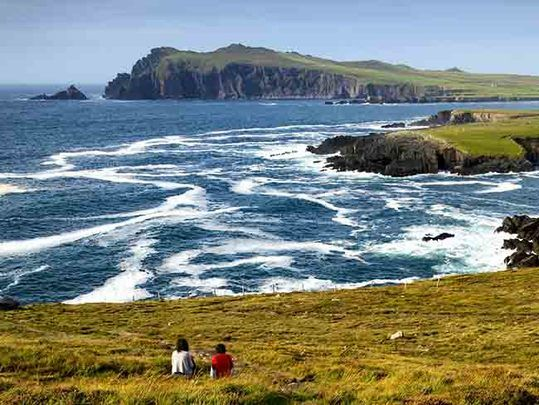 Dingle, County Kerry: Best year for Ireland\'s tourism industry record expected by experts.