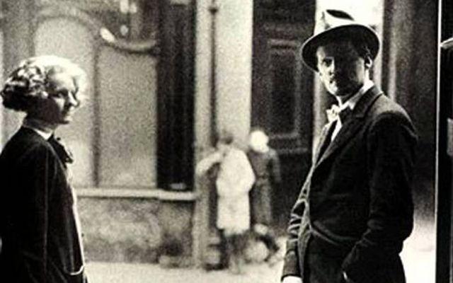 James Joyce and Nora Barnacle.