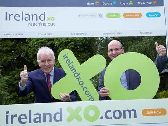 The new enhanced website was launched today by Ireland Reaching Out (Ireland XO).