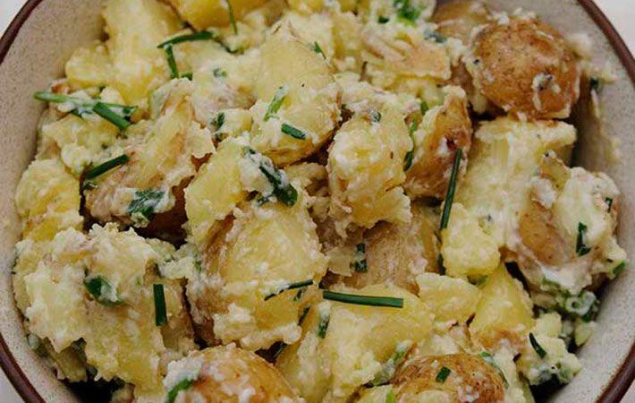 Easy Potato Salad Recipe Ireland
