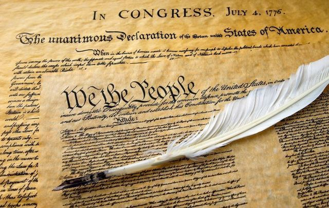 The Declaration of Independence has several Irish links