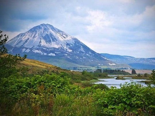 Gary Issi-Tohibi, or White Deer, says life in Donegal at the foot of Mount Errigal has 'healed' him.