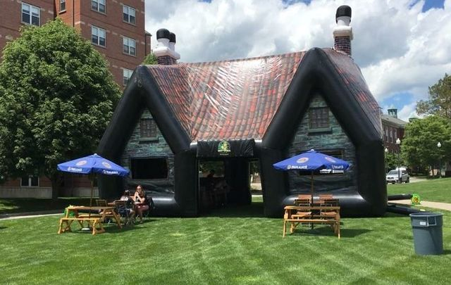 This inflatable Irish pub is what dreams are made of