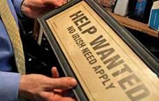 """No Irish Need Apply"" signs existed despite denials, high schooler proved"