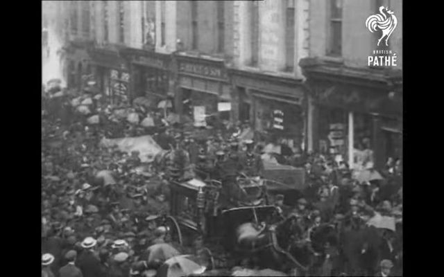 The funeral procession for Jeremiah O\'Donovan Rossa.