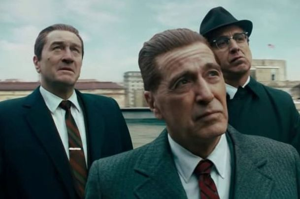 "A still from ""The Irishman.\"""