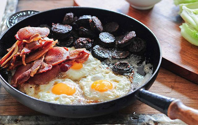 What could be better than a full Irish breakfast?