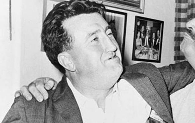 Brendan Behan (1923 - 1964), a Dubliner through and through.