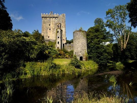 "Kissing the Blarney Stone is said to brings people the ""the ability to deceive without offending.\"""