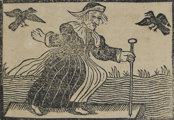 A University of Ulster professor found evidence of three trials in Ireland involving eleven individuals accused of witchcraft in the early 18th century.