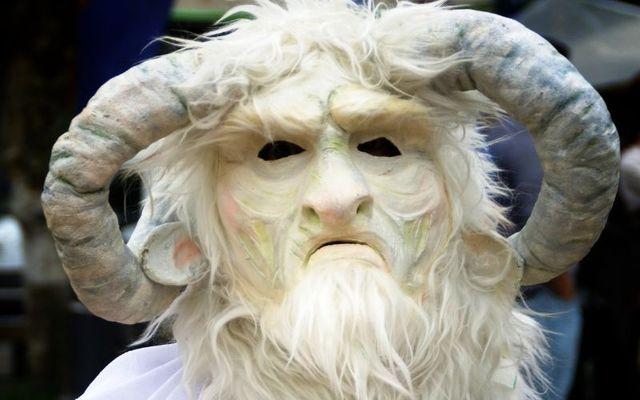 A modern-day depiction of the Celtic god Cernunnos.