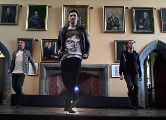 Freedom is an Irish dance collaboration between Kieran Hardiman, Alan Kenefick and Ciaran Plummer.