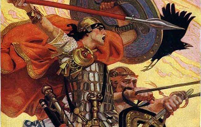 Artist\'s depiction of the Celts.