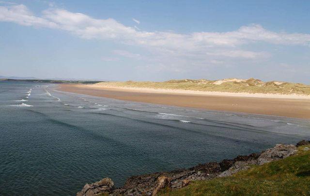 Tullan Strand, Bundoran, in County Donegal.