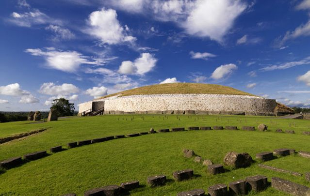 Newgrange, one of Ireland's most fascinating historical sites