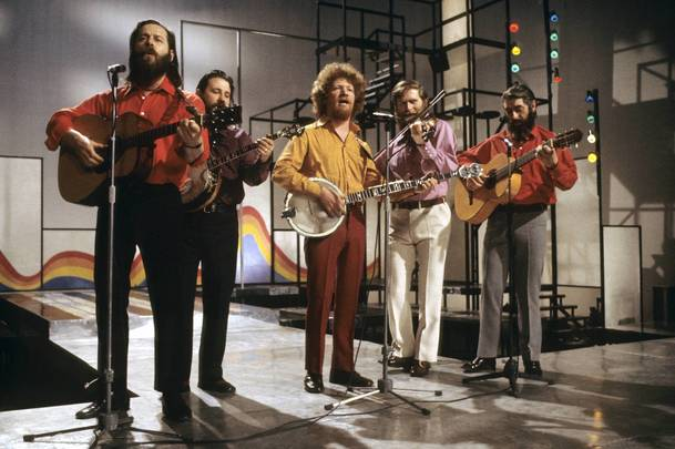 A few songs by The Dubliners will liven up any party.