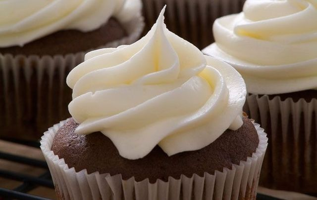 Guinness, Bailey's and whiskey chocolate cupcakes.