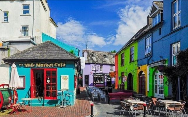 Colorful buildings in Kinsale, County Cork