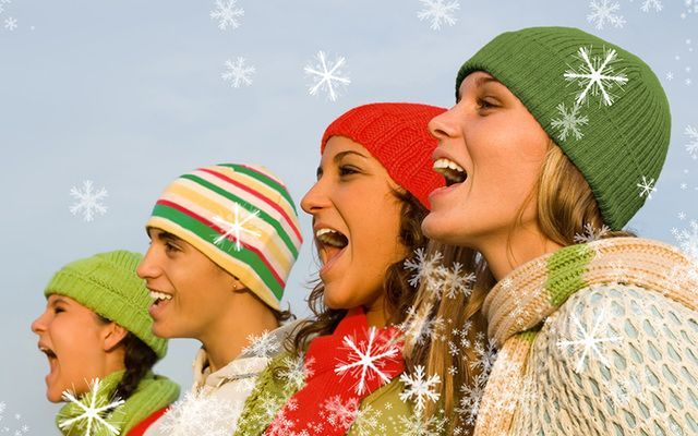 Some cheery Irish melodies, Christmas carols and favorite hymns, to get everyone singing and more importantly smiling.