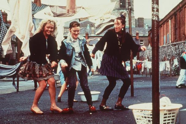 The classic 1991 movie, The Commitments, based on a Roddy Doyle novel.