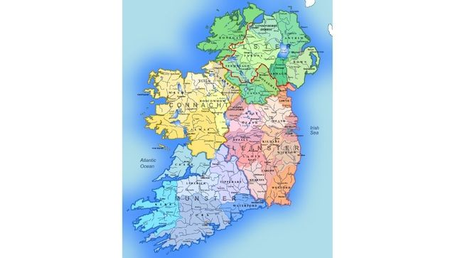 The historic meanings behind the names of Ireland\'s counties.
