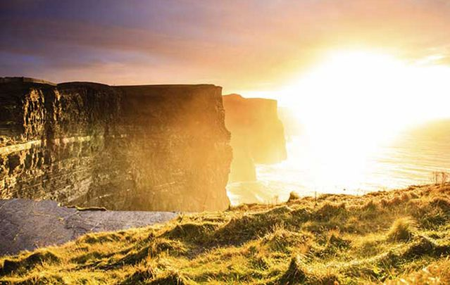 The Cliffs of Moher, County Clare.