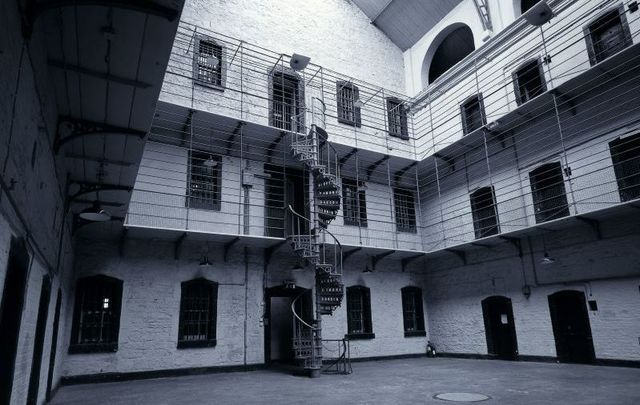 Kilmainham Gaol in Dublin. Would you take a stroll around these haunted locations in Ireland?