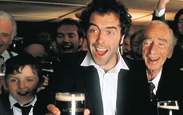 "A scene from ""Waking Ned Devine\"" one of the best Irish movies of all time."