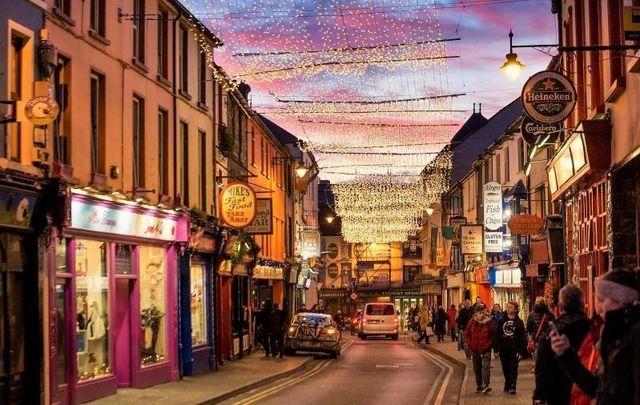 Killarney, Co Kerry at Christmas time.