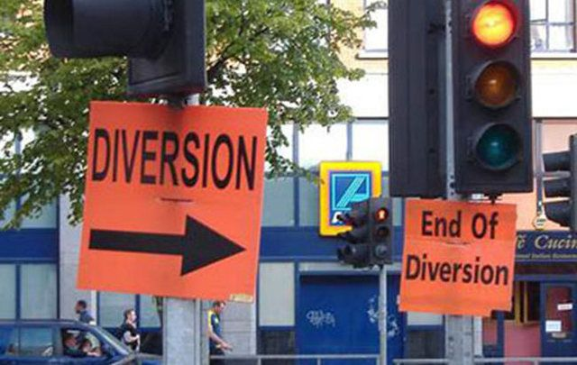 Because life can get confusing...Dublin City Council is there to help you through the smallest diversions.