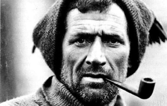 Irish explorer Tom Crean in 1915