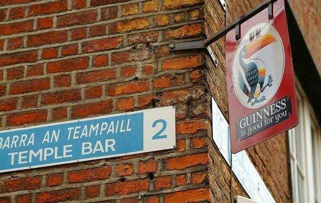 Temple Bar in Co Dublin is a must-see for anyone visiting Ireland