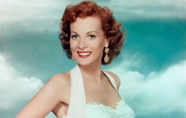 Maureen O'Hara was famous for her firey red locks.