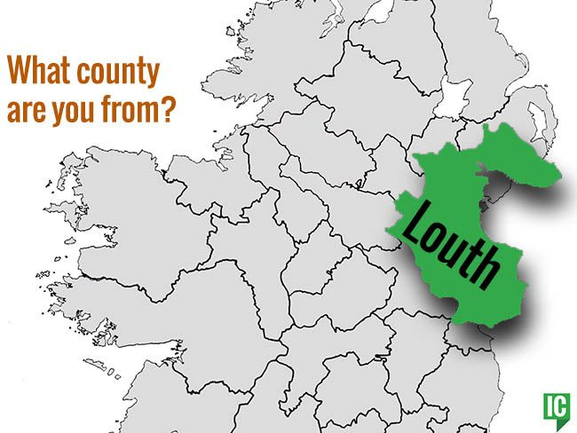 Map Of Ireland Louth.What S Your Irish County County Louth Irishcentral Com