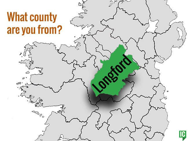 Map Of Ireland Longford.What S Your Irish County County Longford Irishcentral Com