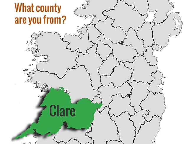 What S Your Irish County County Clare Irishcentral Com