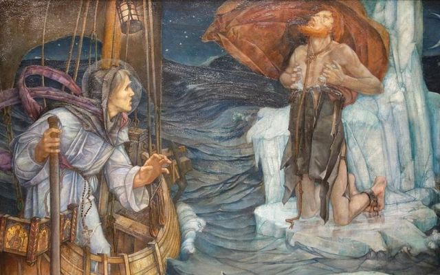 Artist\'s depiction of St Brendan: On the Kerry Saint\'s feast day we take a look at the explorer who followed in his steps to the USA.