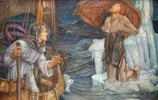 587 - St Brendan's Day! St. Brendan the Navigator, early transatlantic voyager, dies
