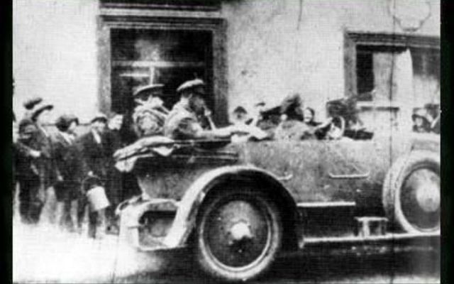 Amazing photo of Michael Collins found 90 years after his death.