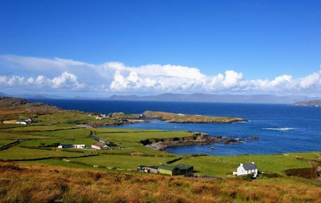 The coastline along the Beara Peninsula in West Cork