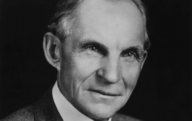 Irish American Henry Ford forever changed the way Americans view the car.
