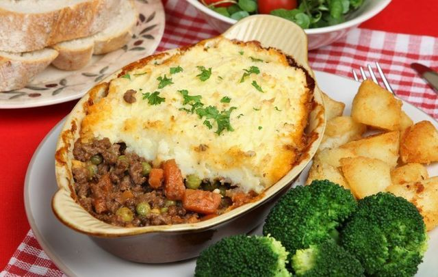 Shepherd\'s Pie is delicious and easy to make.