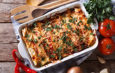 Thanksgiving leftovers recipe: turkey enchiladas with olives